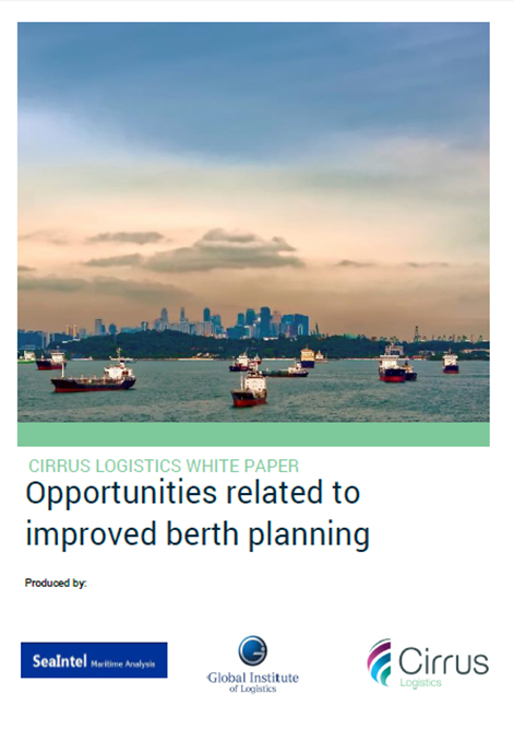Cirrus Whitepaper Opportunities related to improved berth planning