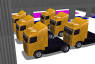 Site Traffic Trucks